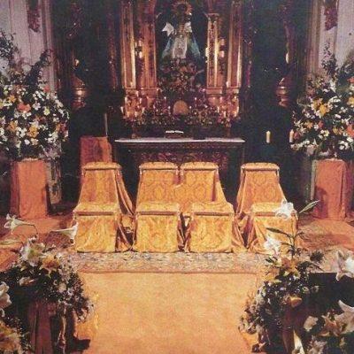 iglesia brocado dorado